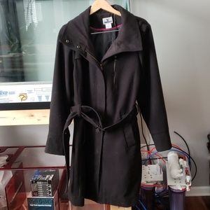 "Wool ""Military"" Style Coat"